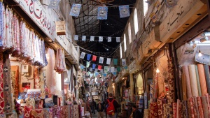 Old city Damascus - by Allison Yoder